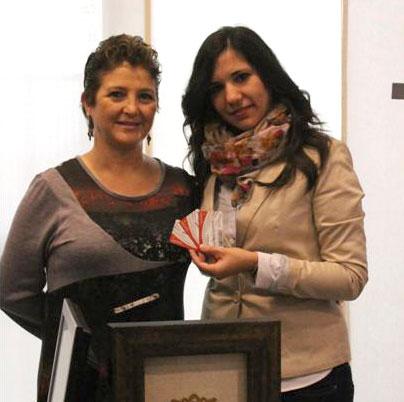 Entrega Del Premio Del Concurso De Postales De Navidad 2012