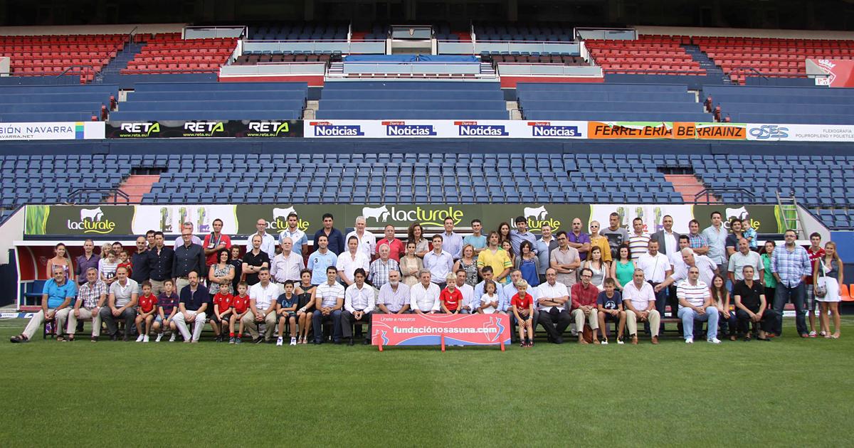 Transformados Ruiz, Patrocinador De Osasuna Como Miembro De Honor Durante La Temporada 2012-2013