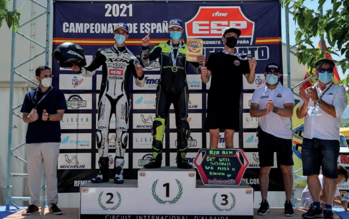 Álex Ruiz, Campeón De España De Supermotard SM/Road